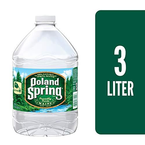 Poland Spring Brand 100% Natural Spring Water, 101.4 Oz Plastic Jug ()