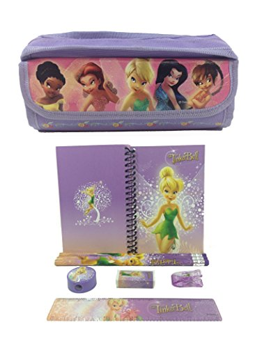 Tinkerbell and Fairies Combo Stationary Set + Pencil - Tinkerbell Stationary