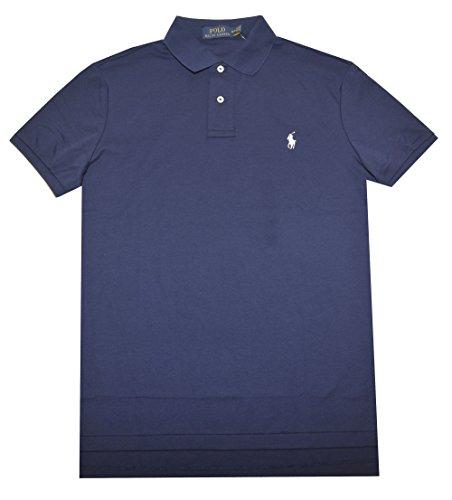 Polo Ralph Lauren Men Medium Fit Interlock Polo Shirt, French Navy, X-Large