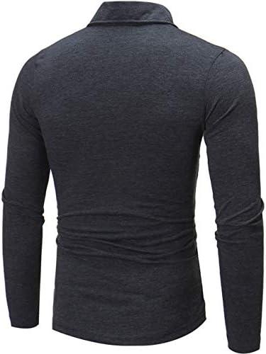 ポロシャツ メンズ 長袖 ゴルフウェア 秋服 無地 スポーツ 綿 作業着 tシャツ Glestore(グラストア)