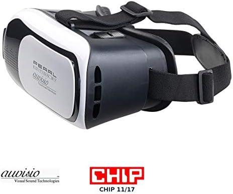 Auvisio VR Gafas: Gafas de realidad virtual vrb58.3d para ...