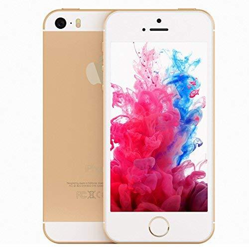 Apple iPhone 5S, GSM Unlocked, 16GB - Gold (Renewed)