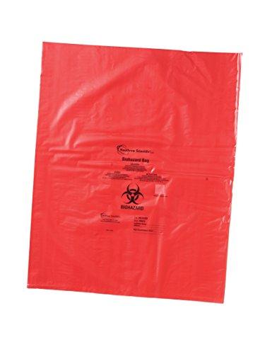 - Heathrow Scientific HS10322 Biohazard Disposable Bag, 19