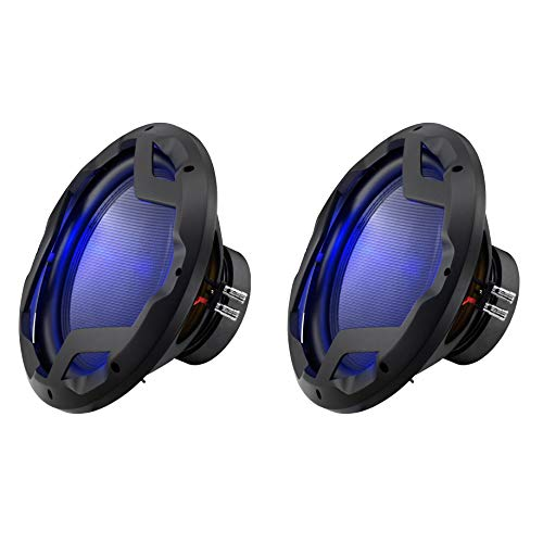 Boss Audio 12-Inch 1600-Watt Subwoofer with LED Illumination (2 Pack) ()