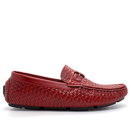 Sandalias con London Hombre cuña Footwear Red YaEqw5