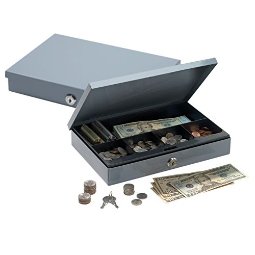 Ultra-Slim Cash Box with Security Lock, 2