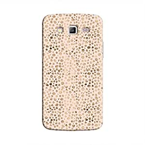 Cover It Up - Brown Pink Pebbles Mosaic Galaxy Grand Prime Hard Case
