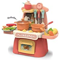 Khilona House Mini Electronic Kitchen Set Toys Cooking Games for Girl