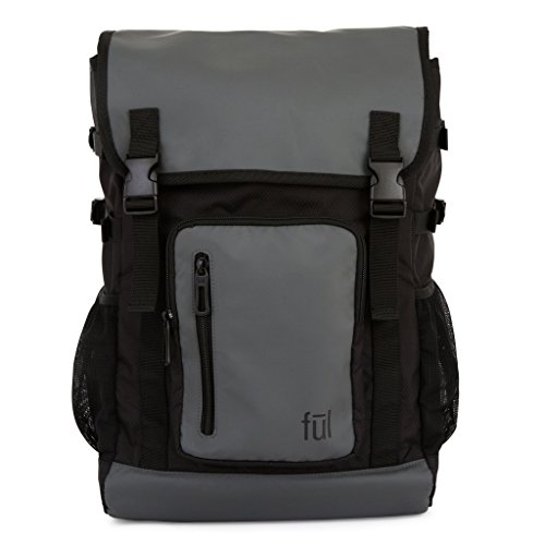 (ful Alpha Laptop Backpack, Grey, One Size)