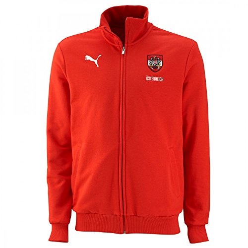 Puma Blank Österreich (Austria) Sweater Jacke