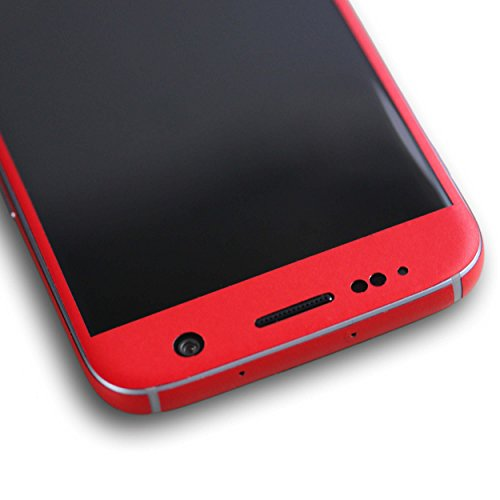 AppSkins Folien-Set Samsung Galaxy S7 Color Edition red