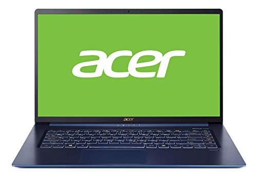 Acer Swift 5 SF515-51T – Ordenador Portátil Táctil de 15.6″ Full HD con Procesador Intel Core i5-8265U, RAM de 8GB, SSD de 256GB, Intel UHD Graphics, Windows 10 Home, Azul – Teclado QWERTY Español