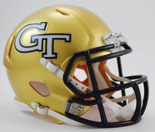 Georgia Tech Yellow Jackets Helmet - NCAA Georgia Tech Yellow Jackets Speed Mini Helmet