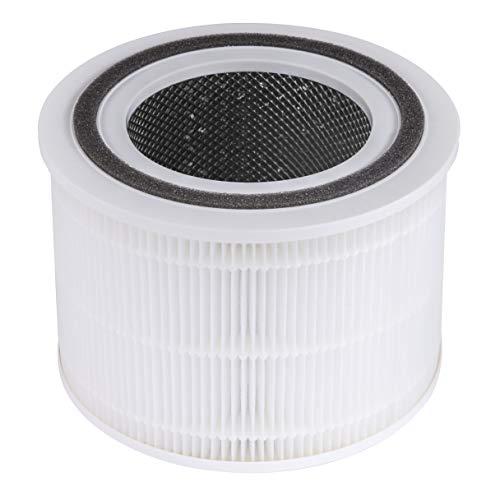 Set de 2 Piezas Negro Rubi 50999 filtros para aspiraci/ón en h/úmedo
