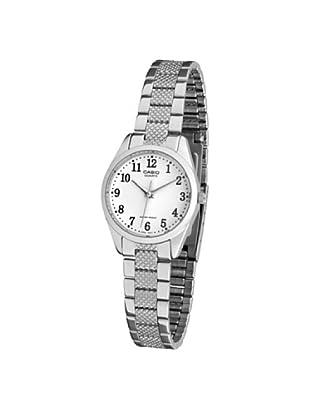 7538c2594a7d CASIO 19123 LTP-1274D-7B - Reloj Señora cuarzo brazalete metálico dial  blanco