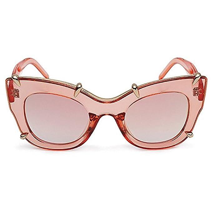 Della colore Uv Da Natale Rosa Nuovissime Sole Del Di Personalità Eyes Protezione Oversized Tonalità Occhiali Cat Con Regali Lady