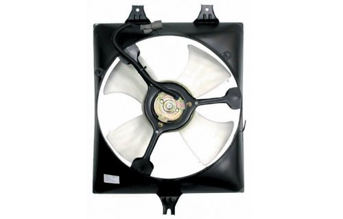 Right Hand Side Replacement AC Condenser Cooling Fan Assembly