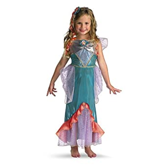 Amazon.com: The Little Mermaid Ariel Deluxe Toddler / Child ...