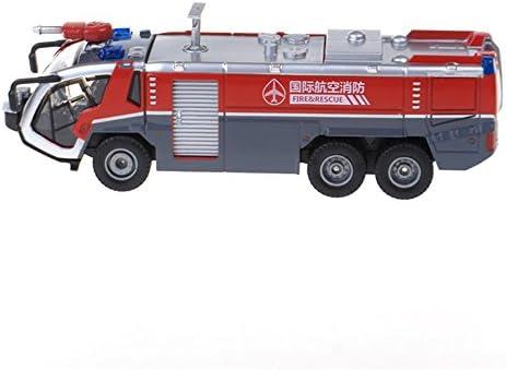 LZ おもちゃ 高圧水銃消防車1:50合金工学車両モデル消防車 子供のおもちゃ
