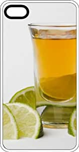 Beer & Lime White Rubber Case for Apple iPhone 5c wangjiang maoyi