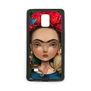 Chinese Frida Art Custom Case for Samsung Galaxy Note 4,personalized Chinese Frida Art Phone Case