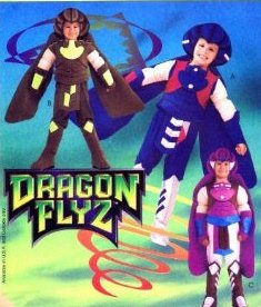 McCall's 8446 Childs Size 7, 8 Dragon Flyz,