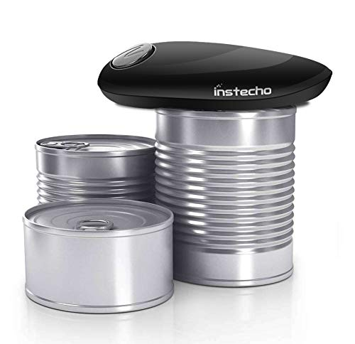 Electric Can Opener, Restaurant can opener, Smooth Edge Automatic Electric Can Opener! Chef's Best Choice by instecho