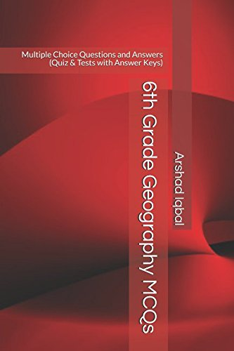 6th Grade Geography MCQs Multiple Choice Questions And