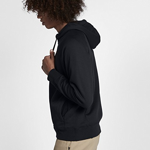 Nike mens M NK SB HOODIE ICON HZ 929147-011_S - BLACK/DARK GREY - Edge Mens Hooded Zip Sweatshirt