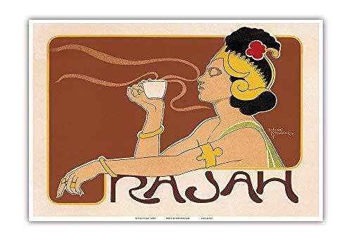 Pacifica Island Art Rajah Coffee, Art Nouveau - La Belle Époque-