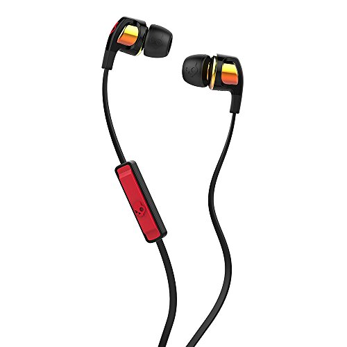 Skullcandy Smokin Bud 2 Spaced Out/Orange Iridium In-ear Headphones with In-line Mic (S2PGGY-392)
