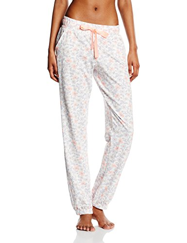 Skiny Playful Sleep / Da. Hose lg. - Parte inferior del pijama Mujer Mehrfarbig (ivory flowers 6908)