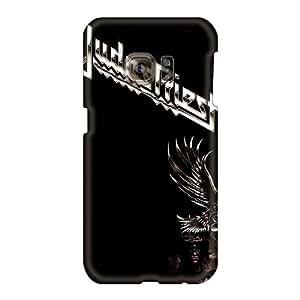 Anti-Scratch Hard Cell-phone Cases For Samsung Galaxy S6 (wPz614JJIW) Unique Design High Resolution Judas Priest Series