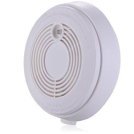 SMS teléfono Independiente Detector de humo alarma de incendios con tarjeta SIM. activo llamadas/textos hasta 5 Números cuando se activa.
