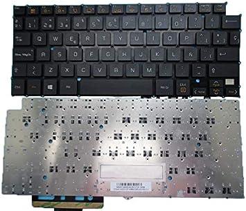 RTDpart Teclado del Ordenador portátil para LG 13Z940 14Z950 HMB8130ELA02 AEW73489814 España SP Negro sin Marco: Amazon.es: Electrónica