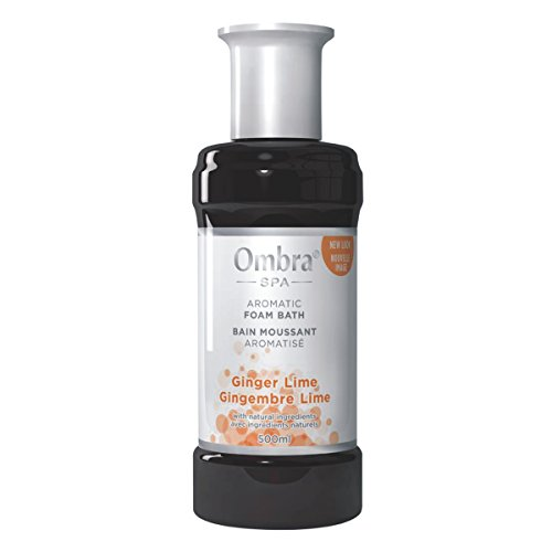 Ombra Ginger/Lime Foam Bath 16.9oz foam bath
