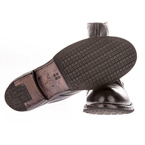 Uomini Hogan Hxm3210y140fkf206b Bianco / Marrone Sneakers In Camoscio Beige