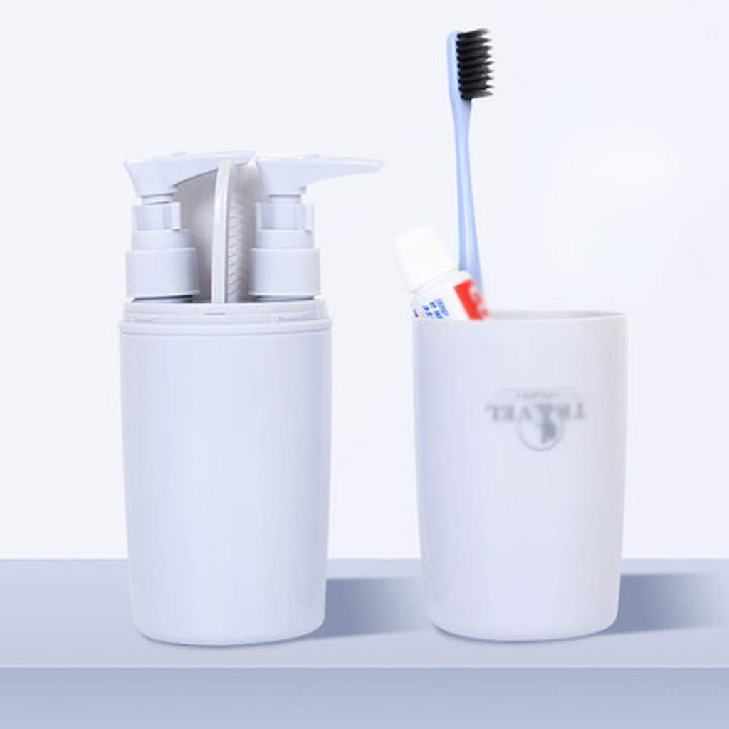 LXSB Travel Wash Cup Travel Portable Bottle Set by LXSB