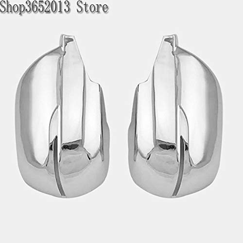 Huanlovely: for Honda CRV CR-V 2017 ABS Side Wing Rearview Mirror Cover Trim Exterior Anti-Collision Decor Car-Covers Car Styling 2PCS/Set