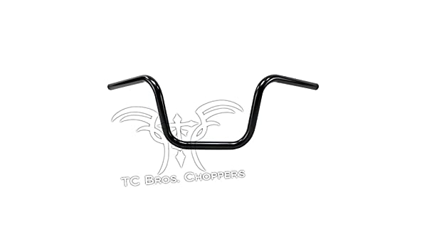 TC Bros 1 Narrow Mini Apes Handlebars 8 Black Dimpled