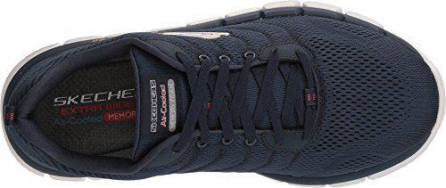 Skechers Mens Skech Flex 2.0 Milwee Mode Sneaker Marine