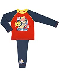 Pokemon Boys Pyjamas - Age 5-12 Years