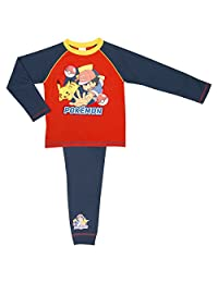 Cartoon Character Products Boys Pokemon Pyjamas - Age 5-12 Years Various Designs