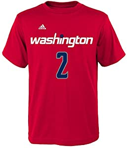 John Wall Washington Wizards #2 NBA Youth Player Name & Number T-Shirt