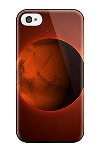 Awesome AdrDrMQ10060YaWtr AnnDavidson Defender Tpu Hard Case Cover For Iphone 4/4s- Planet Mars Frees Desktop
