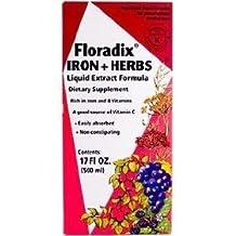 Floradix Formula Iron (500mL=16.6oz) Brand: Flora