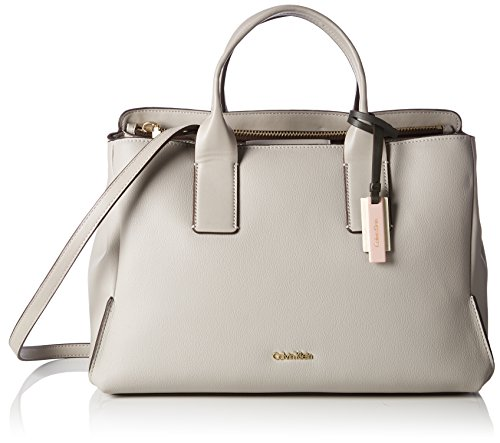 Calvin Klein Milli3 Business Tote - Bolsos totes Mujer Beige (Surplus)