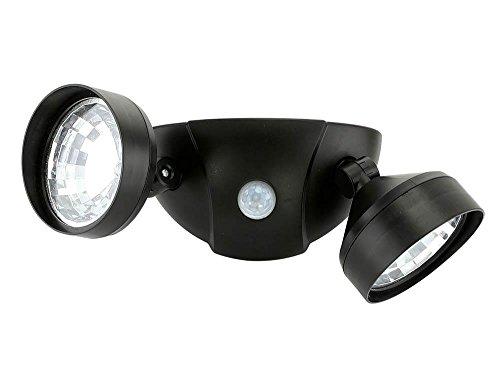 Security Spotlight, Led Dual Safety Motion Modern Garage Porch Sensor Light by Smart Living