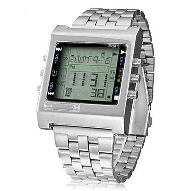 Bella relojes, para hombre paquetes para relojes reloj Digital reloj de pulsera reloj elegante reloj Alla Moda reloj casual chino Digital, plateado: ...