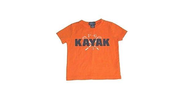 Ralph Lauren Polo Baby Boy T Camisa para Hombre Kayak Naranja 12 ...